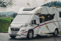 Sunlight thermo window mat for partly integrated and Coachbuilts motor homes