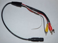 Adapter cable for Sunlight reversing camera
