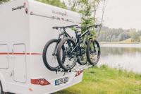 PORTE-VELOS TROIS RAILS pour camping-cars Sunlight
