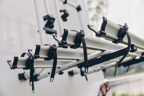 4. Fahrradschiene inkl. Abstandshalter (Erweiterungsset) für Fahrradträger Thule Esse 4 Tripple