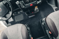 Driver's cabin carpet