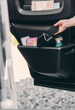 Beifahrertür-Safe (mit Getränkehalter v.Fiat)