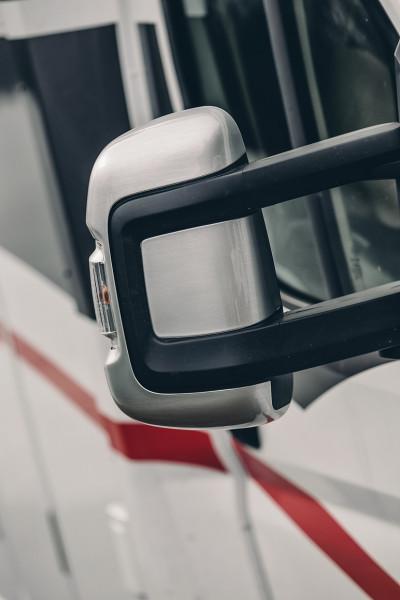 Außenspiegelkappen (kurz) f. CamperVans u. Vans auf Fiat Ducato